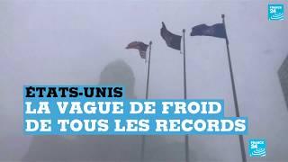 États-Unis : la vague de froid de tous les records