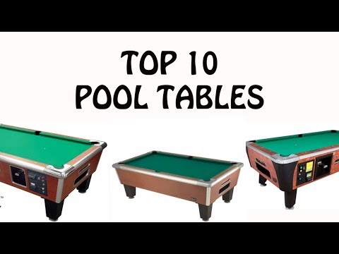 Best And Easy Pool Table - Snooker Table - Billiard Table (2018)