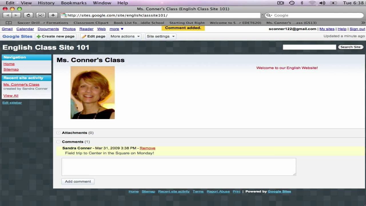Google Sites #2: How to Edit and Add Media to your Google Site