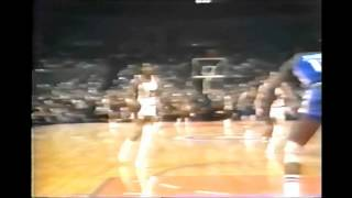 Bill Walton Dunks Over Caldwell Jones Plus The Foul