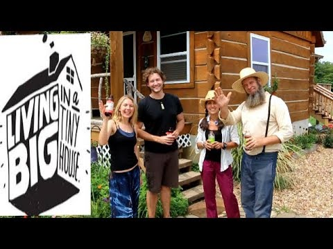 LIVING BIG IN A TINY HOUSE MEETS OFF GRID with DOUG and STACY