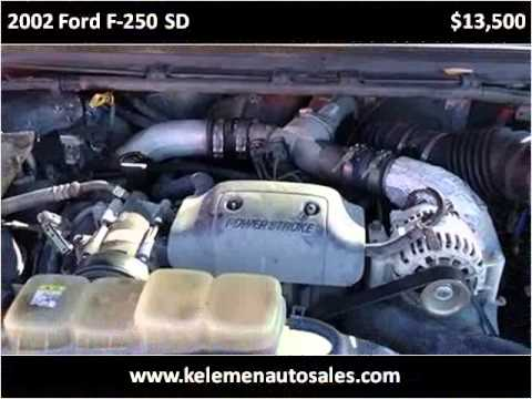 2002 ford f 250 sd used cars high point nc youtube. Black Bedroom Furniture Sets. Home Design Ideas