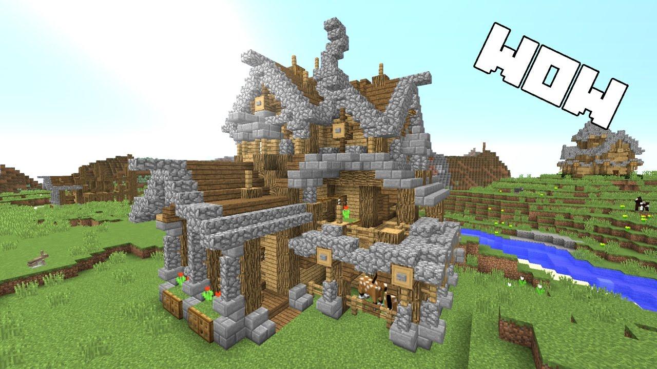Minecraft Ultimate Survival House Tutorial