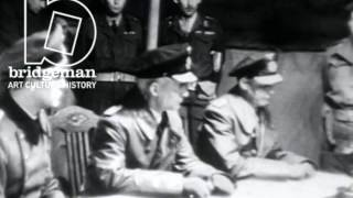 Clip of the Week - The Germans Surrender to Montgomery on Luneburg Heath, 4th May 1945