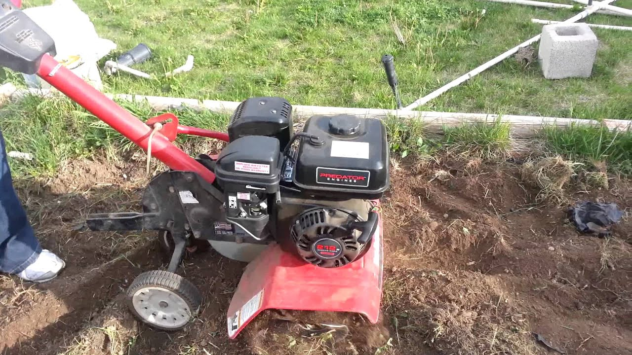rototiller yard machine