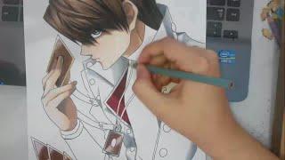 Speed Drawing - Seto Kaiba (Yu-Gi-Oh!)