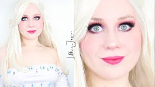 ELSA Frozen 2 Makeup Tutorial Show Yourself Disney Cosplay 2020 | Lillee Jean