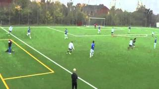College soccer recruiting video Viktor Damgaard (season 2015-2016)
