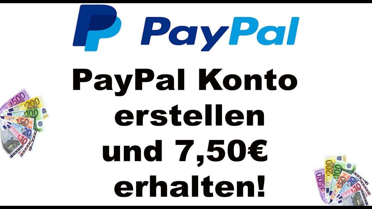 Pay Pal Konto Erstellen