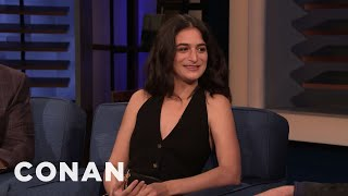 Jenny Slate's Dreams Are Exceptionally Boring - CONAN on TBS