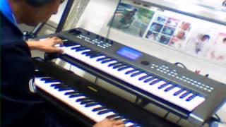 전자키보드 연주 디스코 리듬 - 여자의 일생