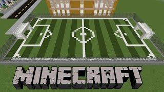 Minecraft:  Halı Saha Yapımı