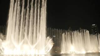The Dubai Fountain: