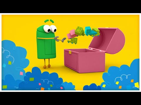 """Clean Up Time,"" Songs About Behaviors by StoryBots"