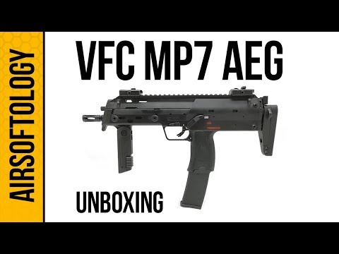VFC's HK MP7 AEG Unboxed! | Airsoftology Unboxing
