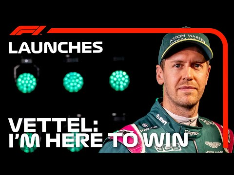 'I'm Here To Win': Sebastian Vettel's First Aston Martin Interview