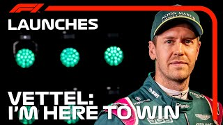 'I'm Here To Win': Sebastian Vettel's First Aston Martin Interview