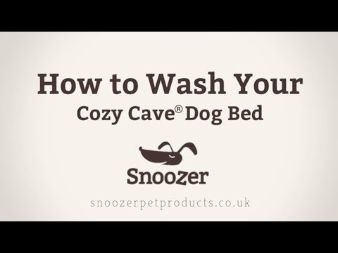 how-to-wash-your-snoozer-cozy-cave®-dog-bed