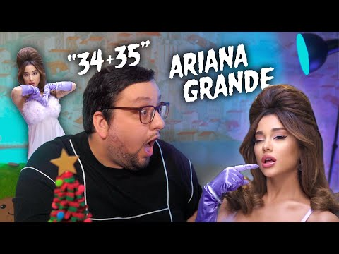 Ariana Grande - 34+35 (official video) РЕАКЦИЯ | REACTION