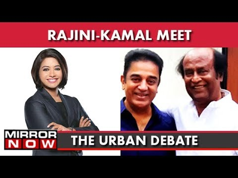 Rajini-Kamal To Unite Against Makkal? I The Urban Debate With Faye D'Souza