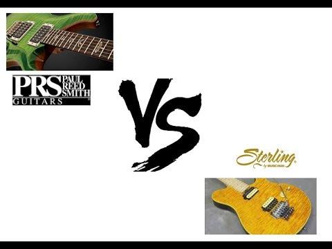 PRS custom 24 vs MusicMan Sterling Ax40