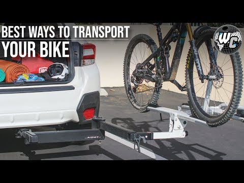Build a tow hitch bike rack
