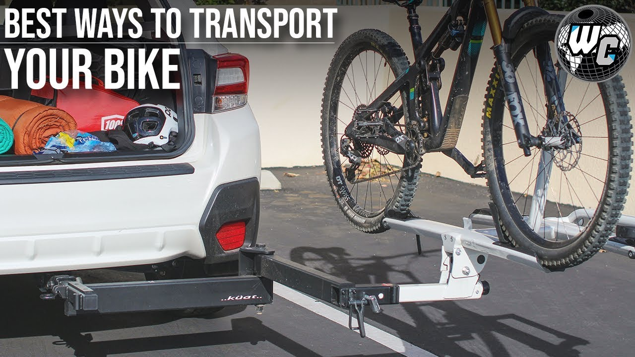 hitch rack tailgate pad top 5 ways to transport your mountain bike