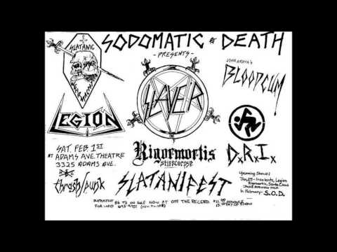 Slayer live in San Diego, 2-1-86, Adams Avenue Theater Mp3