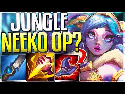 WAIT..IS JUNGLE NEEKO'S BEST ROLE?? OP Clone Ganks - Neeko Jungle Gameplay - League of Legends