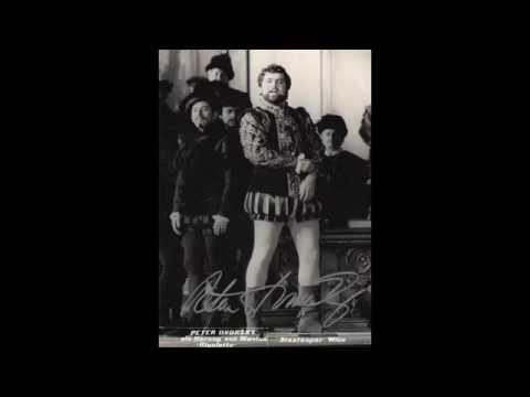 """Verdi / La Traviata: """"Lunge da lei...De' miei bollenti spiriti"""" - PETER DVORSKY (Firenze, 1984)"""