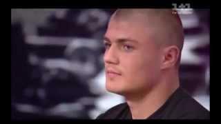Нацгвардієць Артем Усик взяв участь у ток-шоу «Хоробрі серця»