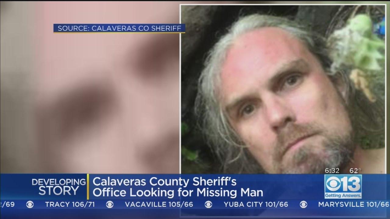 Search On For Missing Person, David Gordon Johnson, In Calaveras County