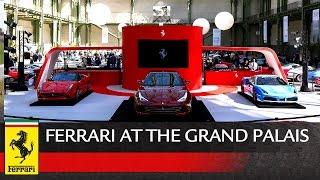 Ferrari GTC4Lusso & 488 GTB Tailor Made unveiling in Paris.