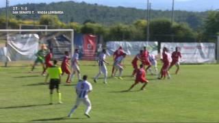 S.Donato Tavarnelle-Massalombarda 1-0 Eccellenza Spareggio