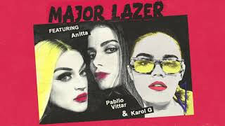 Major Lazer Feat Anitta Pabllo Vittar Karol G Sua