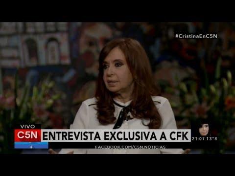 C5N - Entrevista exclusiva a Cristina Fernández de Kirchner