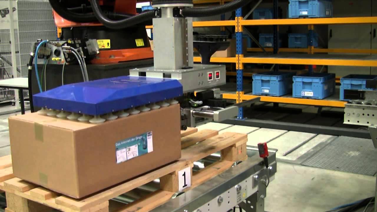 Logistics VG Custom Robot gripper IDD