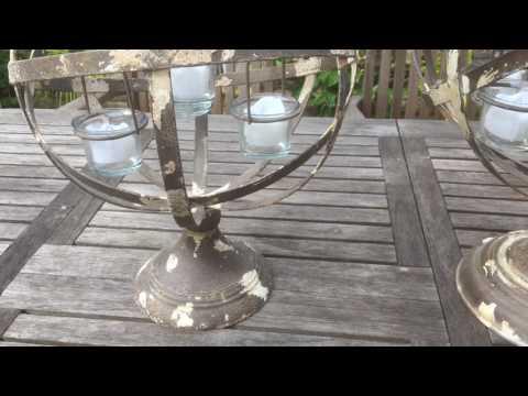 Globe Tea-Light Holders