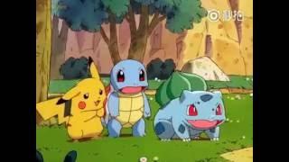 搞笑世界 pokemon寵物小精靈 裏超級溫馨有愛的片段 勾起了童年滿滿的回憶
