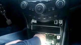 Подключение AUX на Honda Accord 7