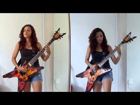She Wolf - Megadeth Guitar Cover (by Noelle dos Anjos)