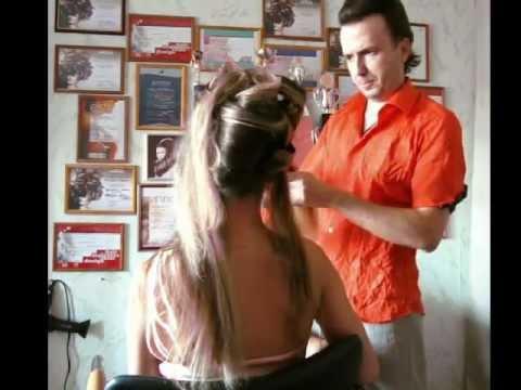 Свадебные прически, прическа и макияж, до и после
