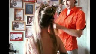 видео Прически на дому недорого. Вечерние причёски. Москва