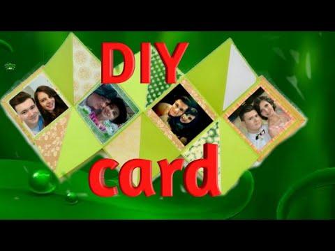 How to make squash card | DIY||Pinky creations