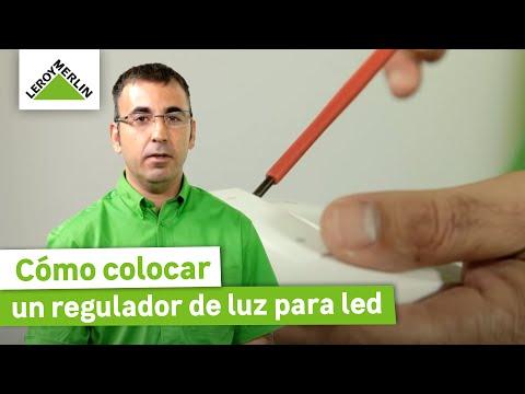 Cómo colocar un regulador de luz para led (Leroy Merlin)