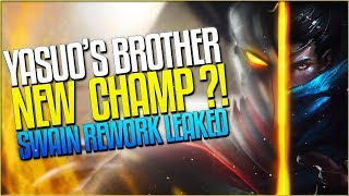 NEXT CHAMP IS AN ADC! YASUO'S BROTHER = FUTURE CHAMP? SWAIN REWORK LEAKED?! League of Legends