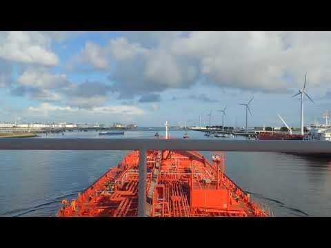 Rotterdam   europort  departure