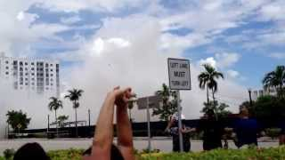 Hollywood Florida apartment building implosion