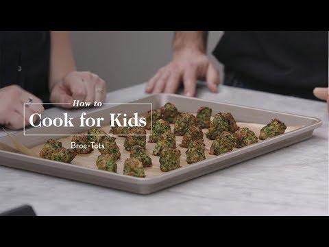 Kid-Friendly Recipe: Broccoli Tots   goop