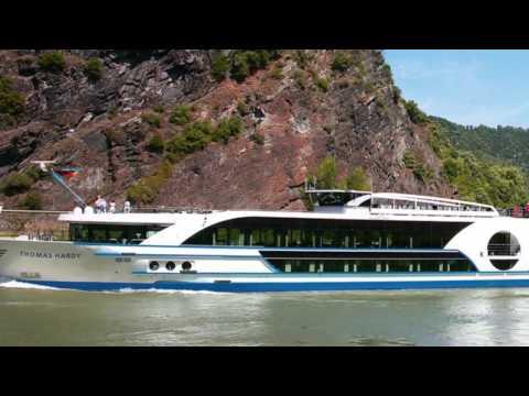 [4K] 2017 m/s Thomas Hardy - Luxury river cruise ship